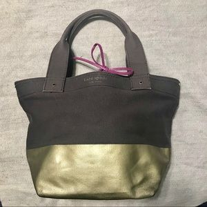 Kate Spade Two-Tone Canvas Bag